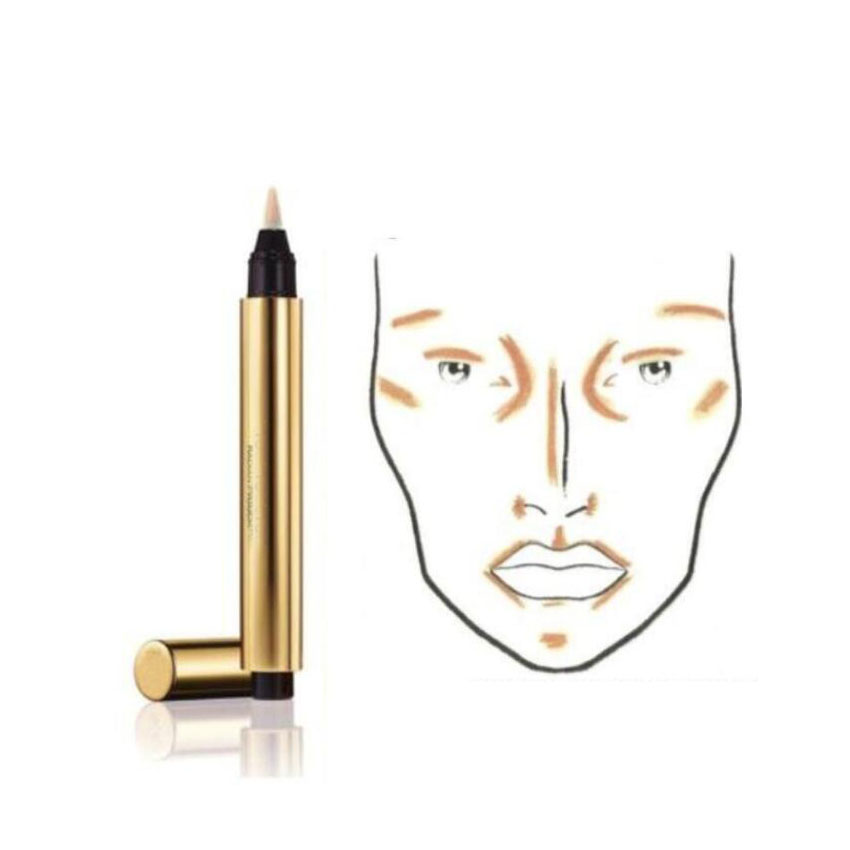 Cosmétiques Eye Masquer Tactile Maquillage Visage Pen Make up Crayon Highlight Étanche Radiant Contour 4 Couleur 2.5 ml
