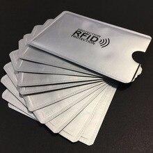 10 шт., защитный чехол для кредитных карт, с RFID-защитой