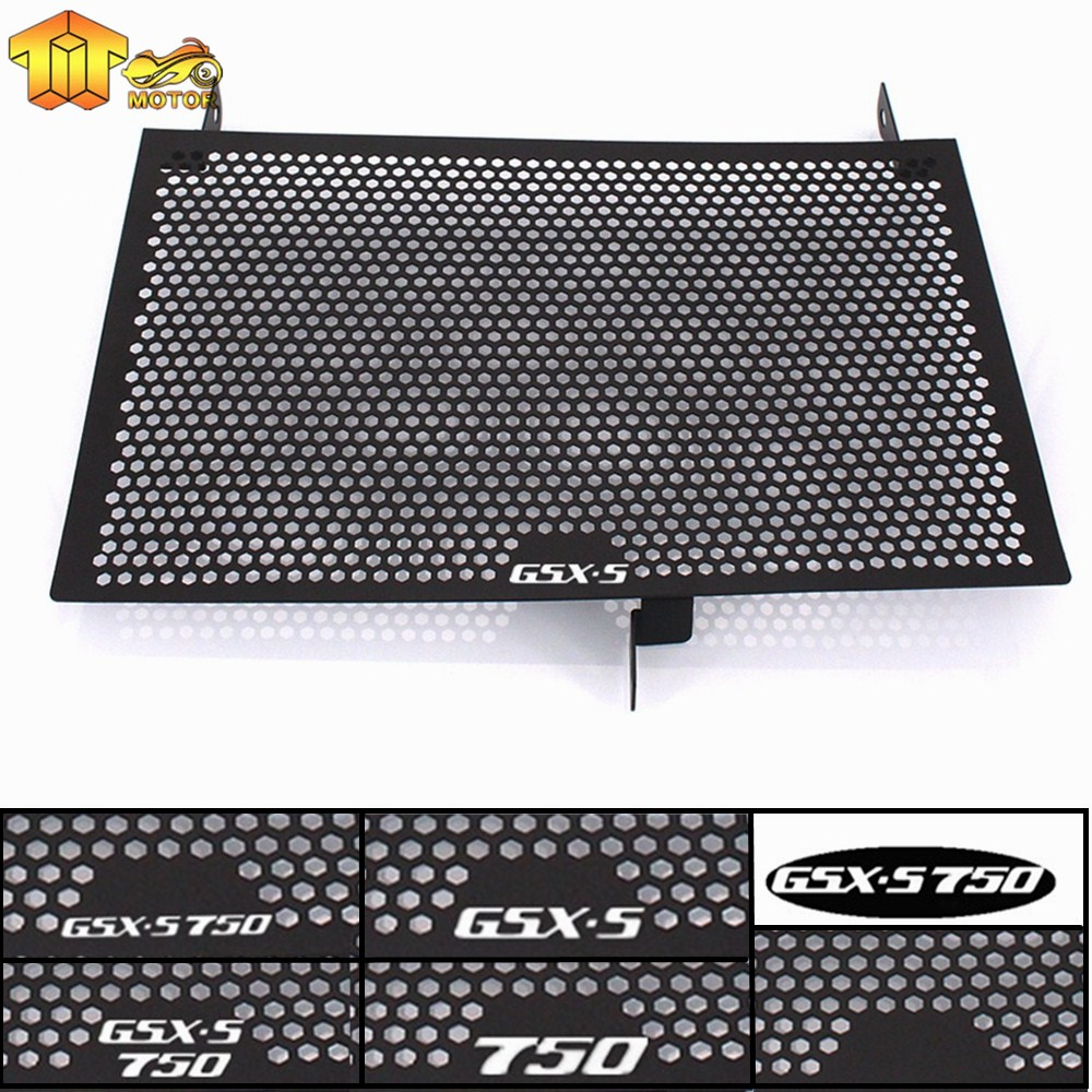 Radiator Grille Guard Cover Protector For SUZUKI GSR750 GSR GSX-S750 2011 12 13 14 15 16 17 2018 Motorcycle Fuel Tank Protection