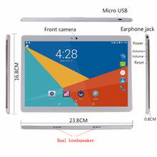 2019 Newest 10 inch 3G 4G FDD LTE tablet octa core phone call tablet 32GB ROM