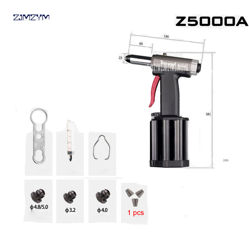 Clearance Sale²Power-Tool Rivet-Gun Pneumatic Hydraulic-Riveting-Tool Pressureblind for Gas Z5000A Commercial
