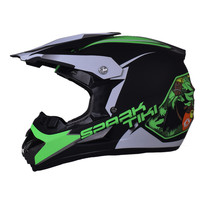 Lekki Casco Downhill Motocross Capacete Motocross Kask Off Road Bike ATV Dirt Bike Motocross Kaski MX DH