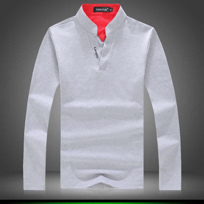 高品質純粋な綿の男性の長袖ポロシャツ、白、緑、グレー、赤、黒、ファッションカジュアルメンズポロシャツ、サイズ 5XL