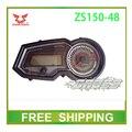 ZS150-48 ZS125-48 dirtbike 125cc 150cc zongshen instrumento accesorios de la motocicleta velocímetro cuentakilómetros envío libre