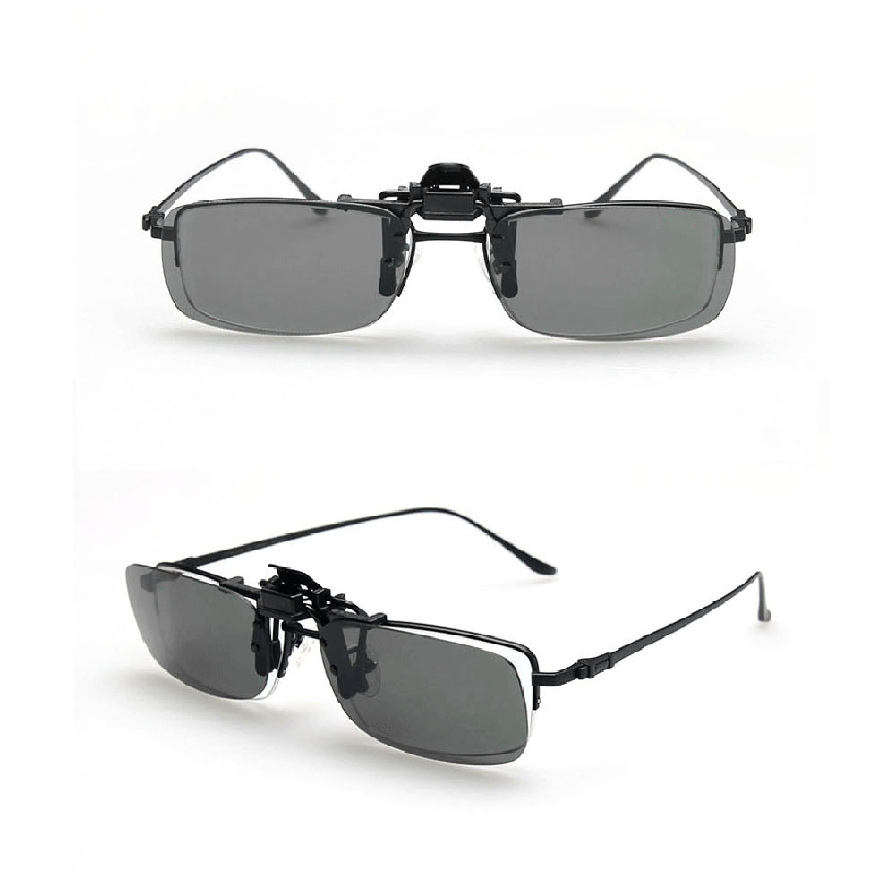 b1bed16243 Strong Toyers Sunglasses Clip on Sunglasses Eyeglasses Sun Glasses Drive Goggles  Spectacles Grey Night Vision with soft box-in Fishing Eyewear from Sports  ...
