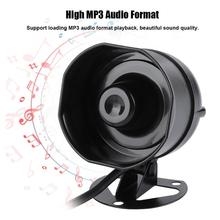 Elektronische Sound Horn Lautsprecher Outdoor Sirene Lkw Lager Alarm Sirene Unterstützung MP3 Wiedergabe SD Karte IP65 Sirena Alarma