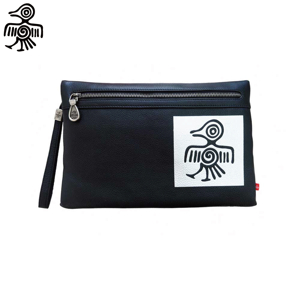 CUI Clutch Bag Original Design Fashion Clutch envelope bag female Clutches Handbag in Cow leather trendy women s clutch with envelope and twist lock design