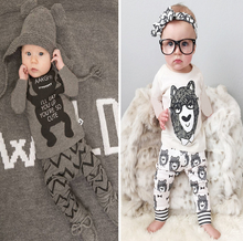 Retail 2020 baby clothes infant clothes baby clothing sets boy Cotton little monsters long sleeve 2pcs baby boy clothes cheap WASAILONG Novelty O-Neck Belt Full REGULAR Fits true to size take your normal size Canvas Vest cartoon Unisex