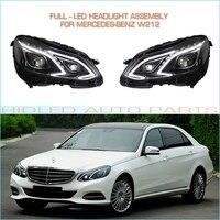 1 компл. полный Светодиодные фары сборки для Mercedes Benz W212 e класс E200 E260 E300 автомобили plug & play