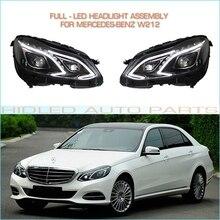 1 Set Full-LED Headlight Assembly For Mercedes Benz W212 E-class E200 E260 E300 Cars Plug & Play