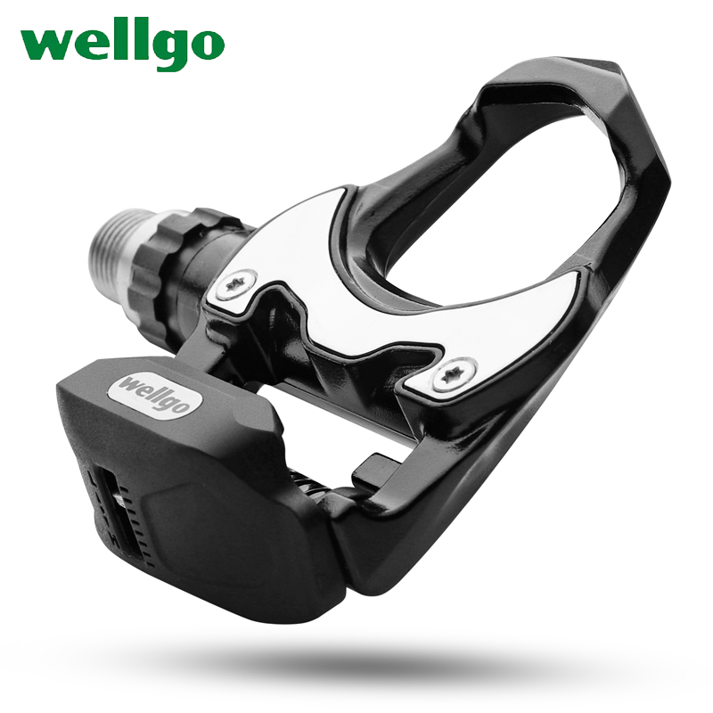 Wellgo R302 Ultralight Road Bike MTB Bicycle Pedals All-alloy Cr Mo Steel Bearing Self-locking Clipless Bicicleta Pedal Cleats taiwan wellgo bearing mtb bicycle pedals c280 city bike self lock pedals