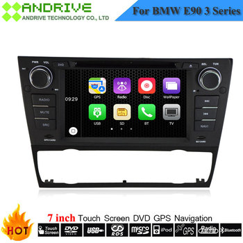 7 inch Touch Screen Autoradio Car DVD player System For BMW 3 Series E90 E91 E92 E93 With GPS Navigation Auto Stereo Headunit image