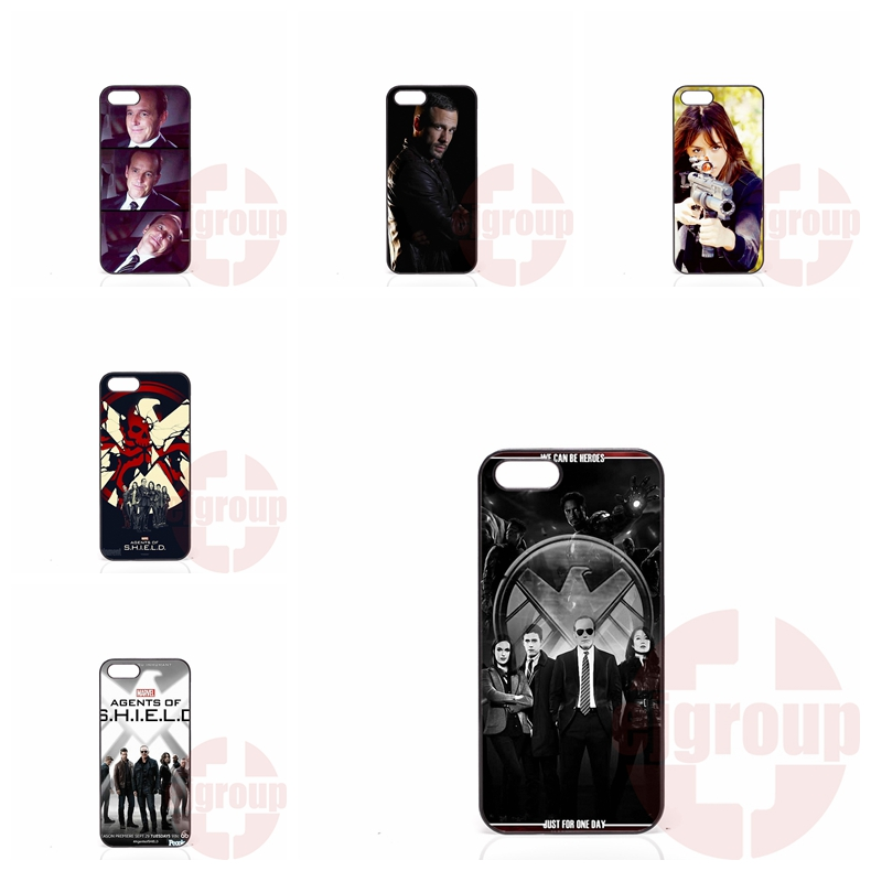 agents of s.h.i.e.l.d shield For Xiaomi Mi2 Mi3 Mi4 Mi4i Mi4C Mi5 Redmi 1S 2 2S 2A 3 Note 2 3 Pro Mobile Pouch