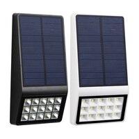 Solar Garden light Waterproof Radar Sensor Solar 15 LED light Outdoor Wall Fence Solar lamp Decoration Christmas Solar light