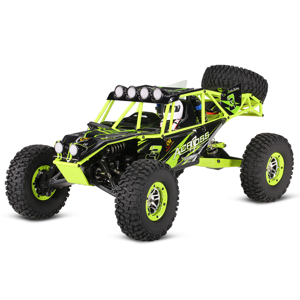 WLtoys <font><b>10428</b></font> 1:10 RC Car 2.4G 4WD Electric Brushed Rock Crawler RTR SUV Remote Control Off-road veicoli Model Toy Vehicles image