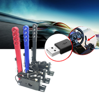 14Bit PC Auto Parts Adjustable Height USB Handbrake Universal Easy Install Clamp Drifting Replacement For Racing Games G27 G29