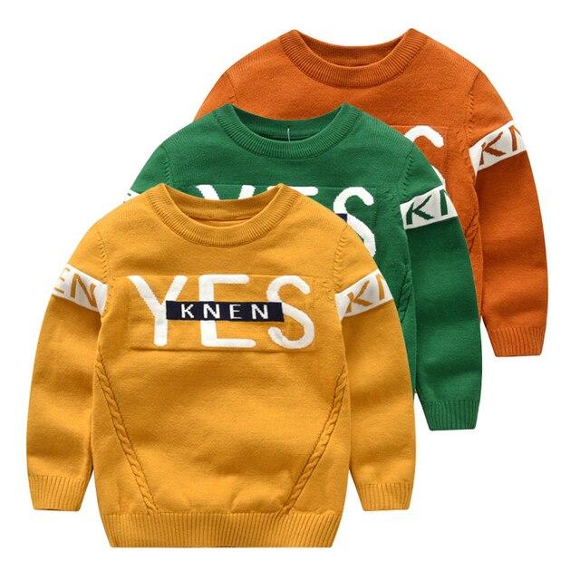 b57510825 Kids Boy Girl Sweater Autumn Winter Fashion Child Clothes Cotton ...