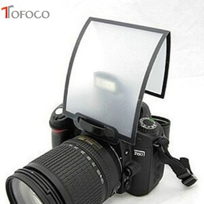 TOFOCO High Quality Universal Soft Soft Pop-Up Flash Diffuser Soft Box For Canon 600d 650d 60d 70d for Nikon d80 d90 d7000