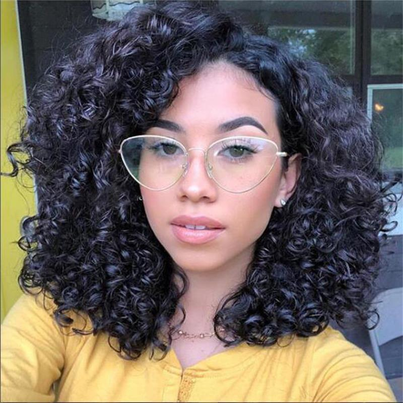 4b2548dcac Thin Metal Cat Eye Glasses Transparent Women Clear Lens Designer Brand  Luxury Female Spectacles Retro Eye Glasses Frames Women -in Eyewear Frames  from ...