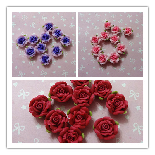 Factory direct wholesale 20mm 100pcs/lot Mobile Ornament, Resin Flowers Cabochon for Jewelry Accesories,Joyas Adorno Accesorios