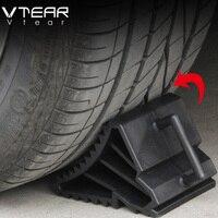 Vtear Car Tire Retarder Wheel Slip Black Rubber Stopper Ramp Anti Slip Stop For Hyundai Solaris