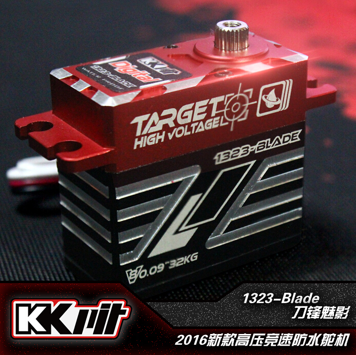 kkpit Hyperbaric Digital waterproof Servo 25t HV CLS 1323 Blade JR Futaba Compatible for RC Models