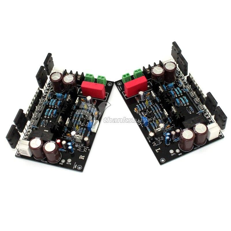 DARTZEEL DC Amplifier 35V 55V 470UF/100V 200W+200W Superpower Amplifier Board A Pair  imitate dartzeel amplifier board