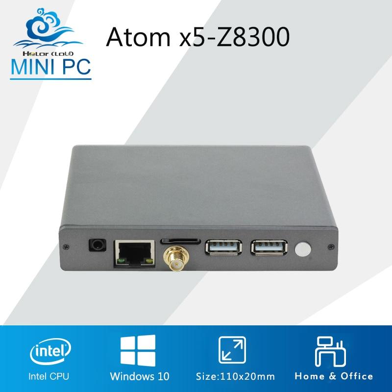 Intel Atom x5-Z8300 Processor Mini Computer Pocket Mini PC Quad Cores Windows 10 2GB 32GB HDMI BT4.0 Ultra Thin PC z83s mini pc intel atom x5 z8350 quad core cpu
