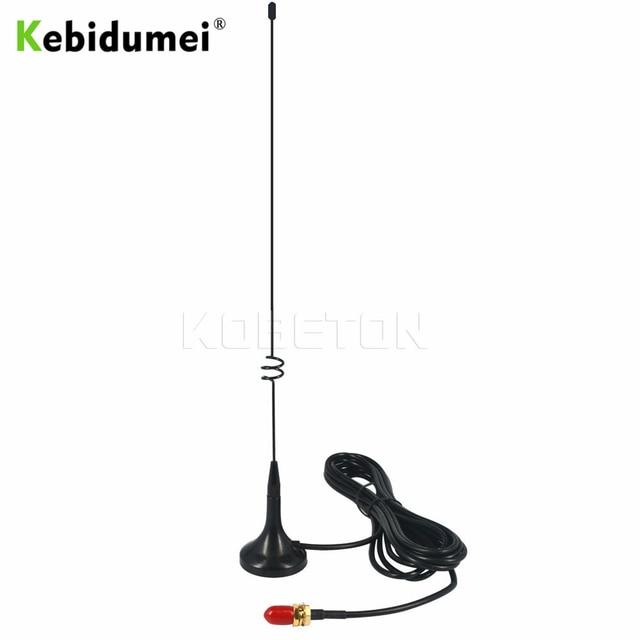 Kebidumei 2019 Two Way Radio VHF UHF SMA Magnetic Mobile Antenna UT-108UV for Nagoya BAOFENG CB Radio UV-5R UV-B5 UV-B6 GT-3