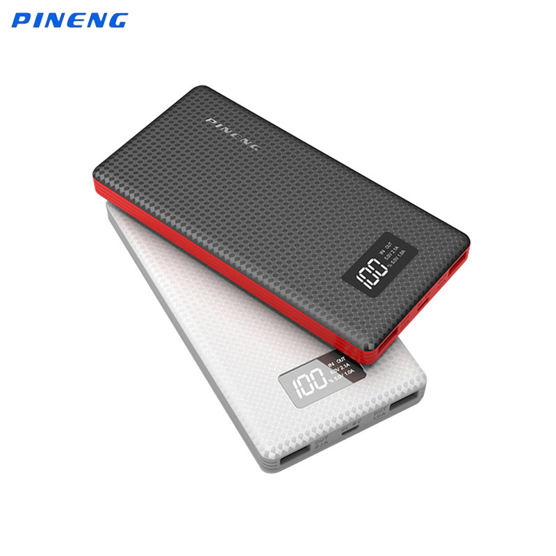 Original PINENG 10000mAh Power Bank PN963 External Battery Bank 10000mAh Portable Charger for iPhone 6 7 Samsung S6 S7 Xiaomi 4