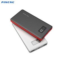 Оригинал Pineng 10000 мАч Запасные Аккумуляторы для телефонов PN963 внешний Батарея Bank 10000 мАч Портативный Зарядное устройство для iPhone 6 7 Samsung S6 S7 Xiaomi 4