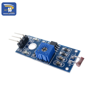 Модуль датчика сопротивления фоточувствительности яркости, датчик интенсивности светильник, модуль фоточувствительного резистора для Arduino, Комплект «сделай сам»