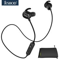 Jesbod Combination Portable Pouch Sets QY19 Sports Earphone Bluetooth Headset MP3 Player Fone De Ouvido And