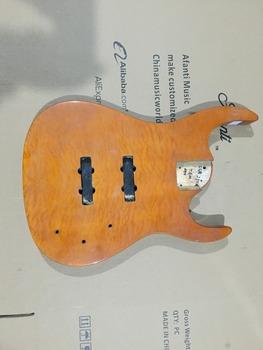 DIY gitara elektryczna DIY gitara elektryczna korpus Afanti music (ADK-673) tanie i dobre opinie Beginner Unisex Do profesjonalnych wykonań Nauka w domu Blokowany klucz LIPA none Electric guitar Body