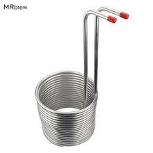 Топ эффективный Нержавеющая сталь змеевика трубы погружения Чиллер Для Охлаждения пивного сусла с домашнего пивоварения