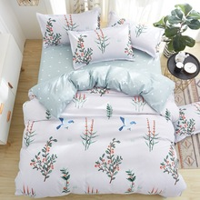 Klonca bedding set cotton sheet summer bed fashioable comforter  cover