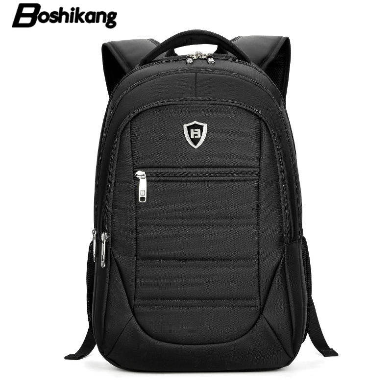 Boshikang Laptop Backpack Man High Quality Oxford Classic Business Backpack Male Brand Fashion Travel Bag Men Leisure School Bag