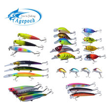 Agepoch Fishing Lures Set Wobbler Feeder Carp Peche Fishing Boat Supplies Carp Fishing Accessory Octopus Benifit Fish Set