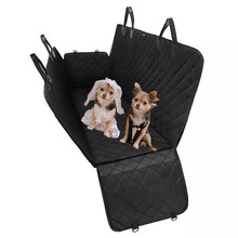 Dog Car Seat Cover View Mesh Waterproof Pet Carrier Car Rear Back Seat Mat Hammo