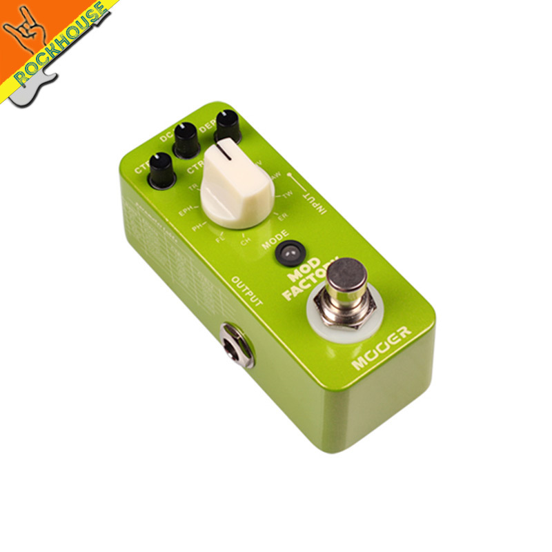 MOOER Mod Factory 11 Classic Modulation Effects Guitar Effects Pedal Chorus Flanger Phaser Tremolo True Bypass Free Shipping portable formaldehyde air quality monitor gas detector with low price