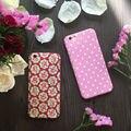 Высокое качество цветочные старинные розовый 360 градусов полный защитить телефон case with tempered glass For iPhone 5,6, 6 S, 6 плюс, 7,7 плюс крышка