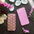 Alta qualidade floral do vintage rosa 360 grau completa proteja phone case com vidro temperado para o iphone 5,6, 6 s, 6 além disso, 7,7 mais cobertura
