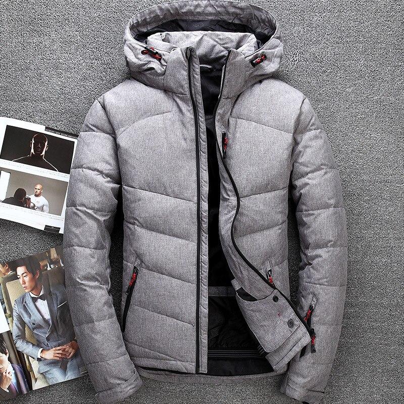 Men's   down   jacket Tace & Shark brand thick men's winter jackets &   coats   windbreaker high quality parka men outdoor overcoats