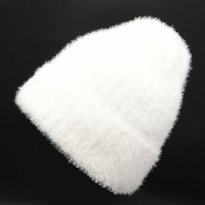 Leisure Simple Lady   Skullies     Beanies   Mohair Material For Women Warm Hat Autumn And Winter Season Knitting Caps High Quality Hat