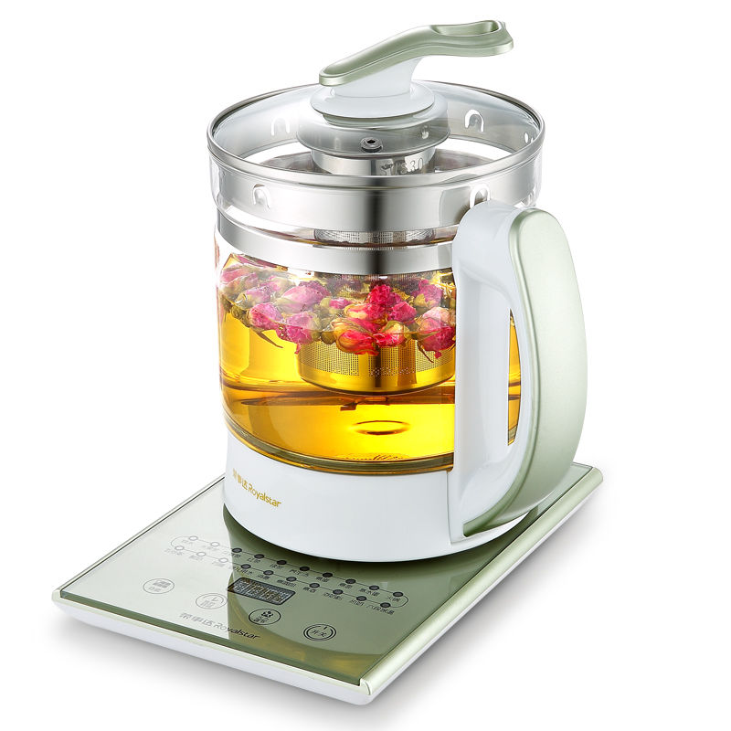 1.8L Health Preserving Pot Thickening Glass Automatic Multi-functional Electric Teapot Glass Kettle Pot Medicine Fashion Design bear health preserving pot automatic electric kettle thick glass tea teapot