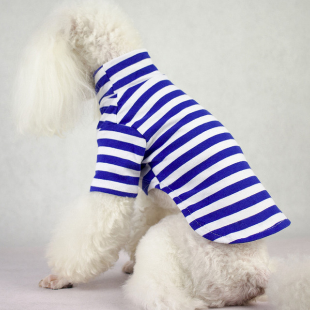Dog Clothes Striped Dog Shirts for Small Medium Dogs Autumn Pet Clothing for Yorkies Chihuahua Clothes Dog Clothing 8d35Q 1
