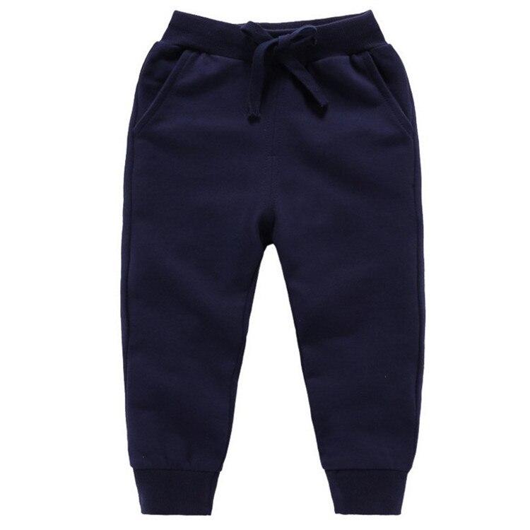 Retail New Warm Velvet Pants For 2-10 Yeas Solid Boys Girls Casual Sport Pants Jogging Enfant Garcon Kids Children Trousers 11