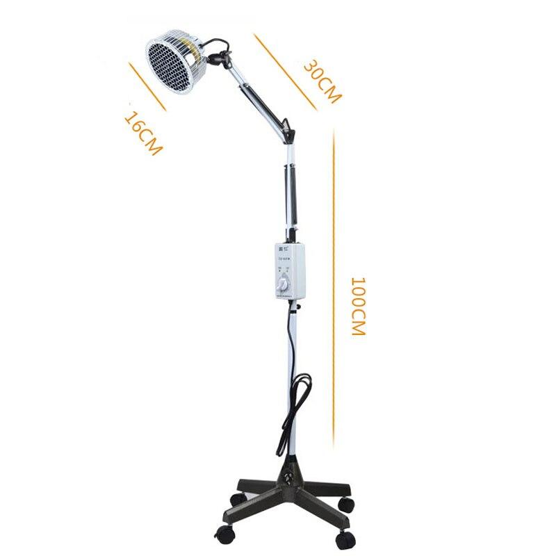 Réglable Température Infrarouge Lumière Chauffage Lampe de Thérapie Musculaire Douleur Soulagement du Rhume Lampe Pour Vente