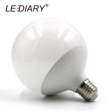 лучшая цена Hot New Design G120 E27 LED Bulb Real 20w Power D120mm*H155mm Global Light 200-240v Ball Light for Chandelier Pendant Lamp