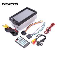 Vehemo HD 7 Inches Double 2Din Car Bluetooth Touch Screen Stereo MP5 Player Waterproof
